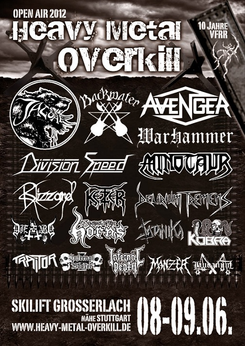 Heavy Metal Overkill 2012